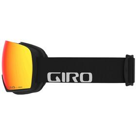 Giro Article Uimalasit Miehet, black/vivid ember/vivid infrared